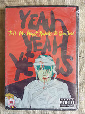 Yeah Yeah Yeahs ‎– Tell Me What Rockers To Swallow - DVD NEW SEALED