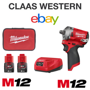 Milwaukee M12FIW38-202B 12V Impact Wrench