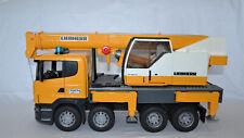 Bruder Scania Liebherr Kran LKW Kranwagen