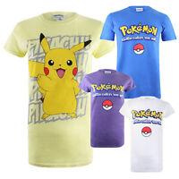 Pokemon - Gotta Catch em all - Pikachu - Official Licensed Ladies T-shirt - S-XL