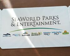 SeaWorld parks and Entertainment Tickets