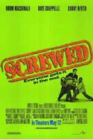 SCREWED MOVIE POSTER DS 27x40 NORM MACDONALD
