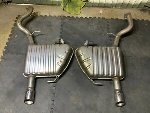 Jaguar XF Exhaust - Back Box & Tail Pipe - sold as a pair