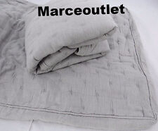 Hotel Collection Eclipse STANDARD Quilted Pillowshams Set Gray