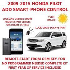 Plug And Play Remote Start For Honda Pilot 2009 2015 Mycar Smart Phone Fits Honda