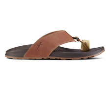 Chaco Mens Playa Pro Loop Flip Flop (Cognac, Sz 9) Ret $95, HUGE Sale Free Ship