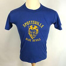 Anerkjendt alférez Azul camiseta Auténtica de tamaño mediano