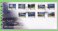 New Zealand 2007 Scenic Definitives issue First Day Cover