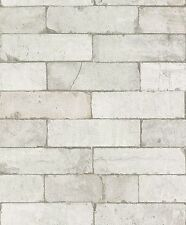 Rasch Tapete ENFANTS & ADOS 203615 papier-peint à motif de pierres/BRIQUES