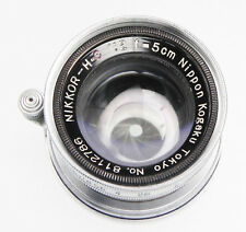 Nikkor 5cm f2 Coll. Leica SM  #8112786