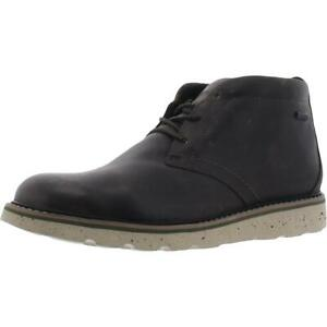 Rockport Mens Storm Front Brown Leather Chukka Boots Shoes 9 Wide (E) BHFO 7489