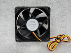 """NEW Rutay 80mm x 25mm High Speed Fan 3 Pin Connector 27"""" Long Wires HD120825BH"""
