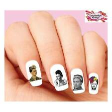 Waterslide Nail Decals Set of 20 - Frida Kahlo Assorted