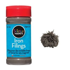 Iron Filings in a Shaker Can by Dowling Magnets