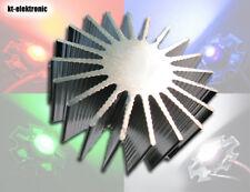 3 Stück Power LED Alu Kühlkörper für 1W Starplatine