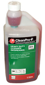 Clean Pro+ Heavy Duty Cleaner Degreaser Concentrate 1 Litre H1