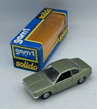 Vintage Solido 1/43 gam 1 Lancia Beta no. 52 Collectible Diecast Car