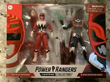 Power Rangers Lightning Collection - In Space Psycho Red Ranger and Lost Galaxy