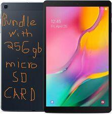 """2019 Samsung Galaxy Tab A 10.1"""" FHD Tablet 128GB Android 9 BUNDLE w256gb SD Card"""