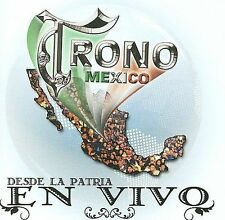 FREE US SHIP. on ANY 2+ CDs! ~Used,Good CD El Trono de Mexico: Desde la Patria E