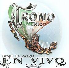 FREE US SHIP. on ANY 2 CDs! NEW CD El Trono de Mexico: Desde la Patria En Vivo!