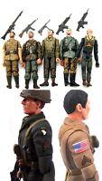 Soldati Tedeschi Inglesi Usa Seconda Guerra Mondiale varie figure 10 cm
