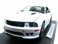 WELLY  2007 SALEEN S281 E MUSTANG POLICE CAR 1/18 WHITE