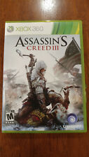 Assassin's Creed III (Microsoft Xbox 360, 2012) MINT 2-DISC SET! MAIL TOMORROW!