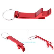 Aluminum Alloy Beer Bottle Opener Keychains Can Opener Keyring Claw Bar Tool