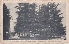 FERRARA - Viale Pubblici Giardini - Monumento a Giuseppe Garibaldi