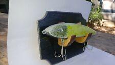 Fishing Lure Handmade Handpainted Decor Art Fish