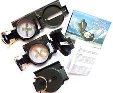 Peilkompass BOUSSOLE Metallgehäuse Survival Outdoor Camping Marsch Kompass
