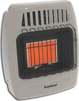 NEW KOZY WORLD KWP212 12K INFRARED LP GAS HEATER 500 SQ FT WALL MOUNT 0707596