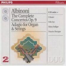 Albinoni: The Complete Concertos Op 9; Adagio for Organ and Strings Oct-1997 2CD