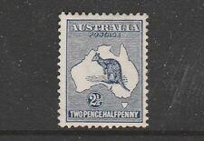 KANGAROO FIRST WATERMARK 2½d INDIGO MINT AUSTRALIAS FIRST STAMP VERY FRESH SG 4