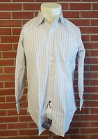 Oxxford Clothes Bergdorf Goodman Long Sleeve Dress Shirt New w/ Tags 16 - 33 VTG