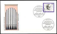 BRD 1992: Hugo Distler! FDC der Nr. 1637 mit Berliner Sonderstempeln! 1A! 1808