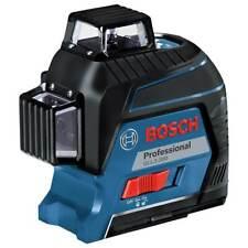 Bosch Gll3 300 360 Degrees 3 Plane Red Beam Self Leveling Line Laser