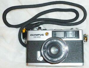 Vintage Olympus 35 ED 35mm Rangefinder Camera Zuiko Lens D Lomo