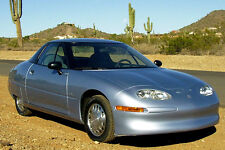 1996 GM EV-1 Coupe, Front angle, ELECTRIC CAR, Refrigerator Magnet, 40 MIL