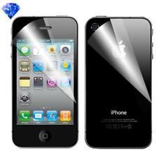Pellicola per iPhone 4 & 4S, Brillantinata, Fronte Retro, proteggischermo