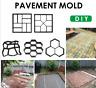 NEW Reusable Path Floor Mould DIY Path Maker Garden Lawn Paving Concrete Mold
