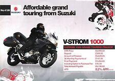 Suzuki DL1000 GB Finance Flyer V-Strom 1000 Grand Touring