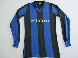 Saarbrücken Heim Trikot 1980s Erima Peugeot Jersey Shirt Made in Western Germany