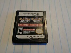 Pokemon Darkrai Distribution Cartridge WORKING RESTORED! Nintendo DS 3DS RARE