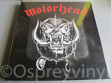 Motorhead Self Titled clear vinyl 3LP Box Set Factory Sealed RSD 2017