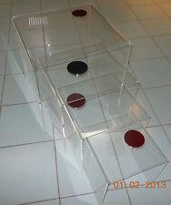 Tavolo Bridge 250x250x250 mm in plexiglass trasparente