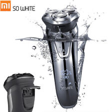 Xiaomi SO WHITE ES03 Electric Shaver Razor Trim 3 Head Dry Wet Shaving G1Z0