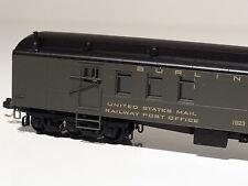 MICRO-TRAINS #148 00 030 BURLINGTON 70' HEAVYWEIGHT MAIL BAGGAGE CAR
