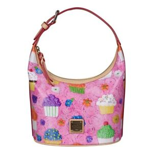 Dooney & Bourke Cupcakes Limited Edition Bucket Bag Purse Pink~NWT